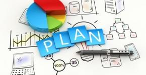 Grafika przedstawiająca koncept planowania